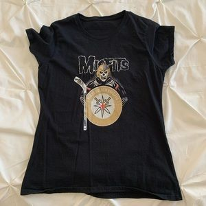 "Tops - ""Misfits"" Vegas Golden Knights tee"